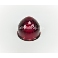 Image for Domed Red Glass Lens